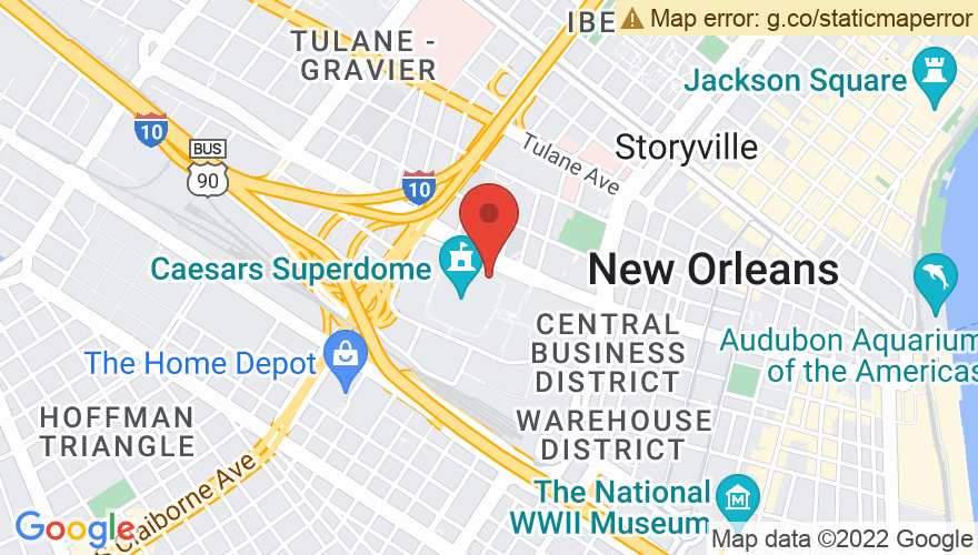 Map for Mercedes-Benz Superdome
