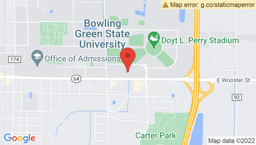 Map for Stroh Center