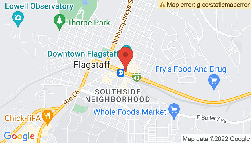 Map for Flagstaff Brewing Company