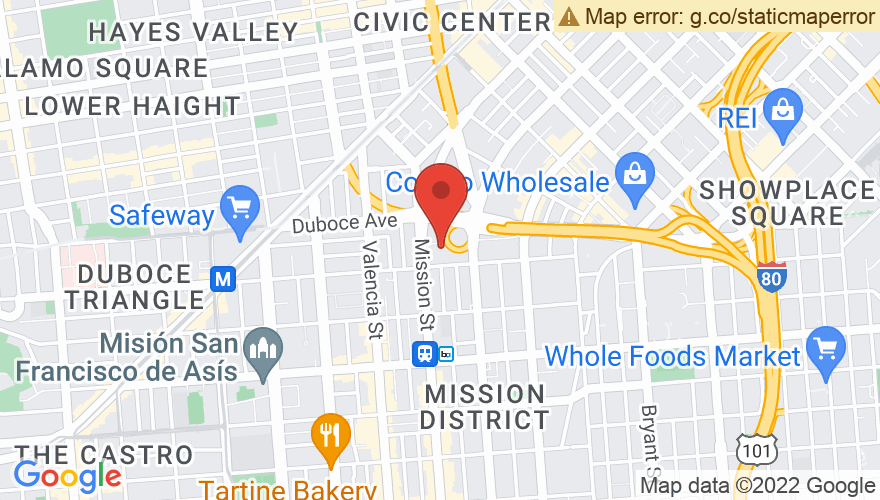 Map for Public Works SF