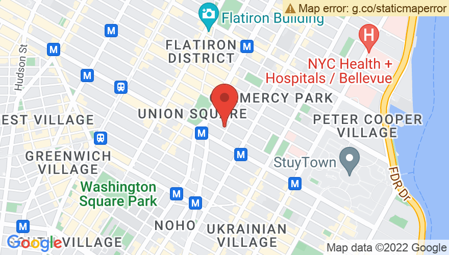 Map for Irving Plaza