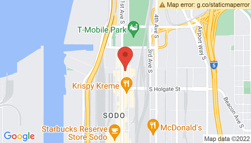 Map for Showbox SoDo