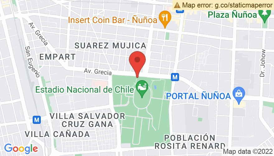 Map for Estadio Nacional
