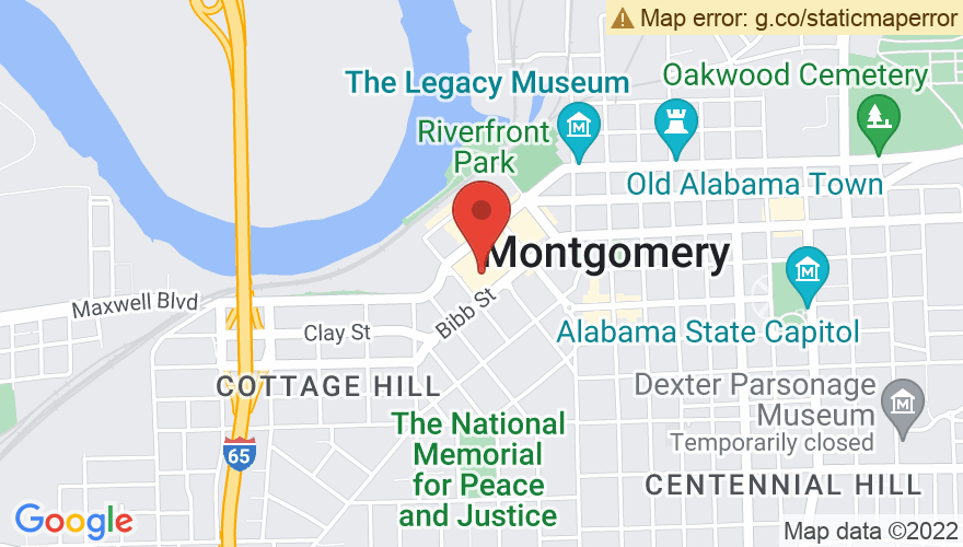 Map for Montgomery Performing Arts Center