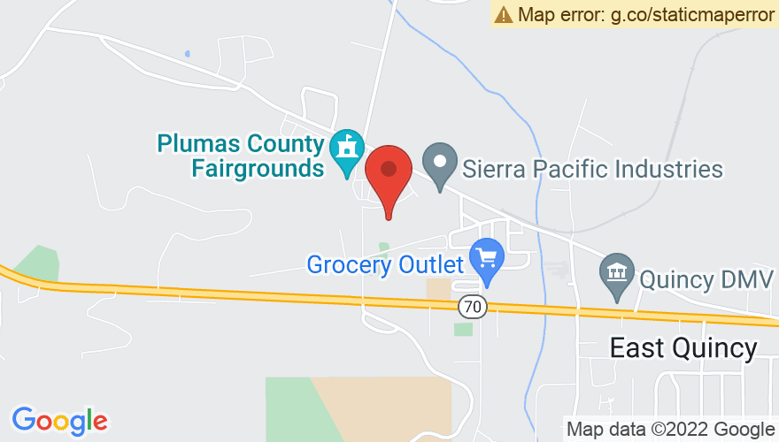 Map for Plumas County Fairgrounds