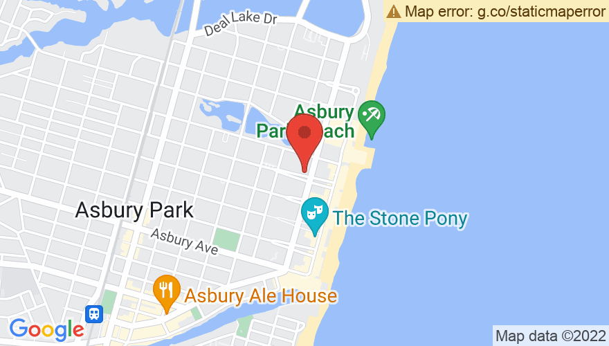 Map for Asbury Lanes