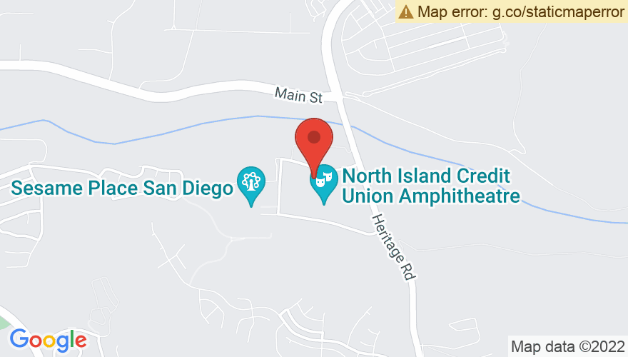 Map for Cricket Wireless Amphitheatre