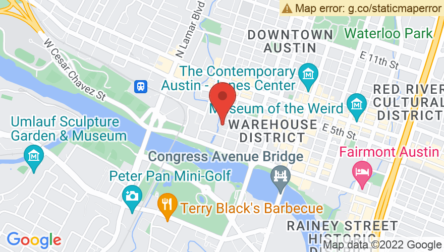 Map for Austin Music Hall