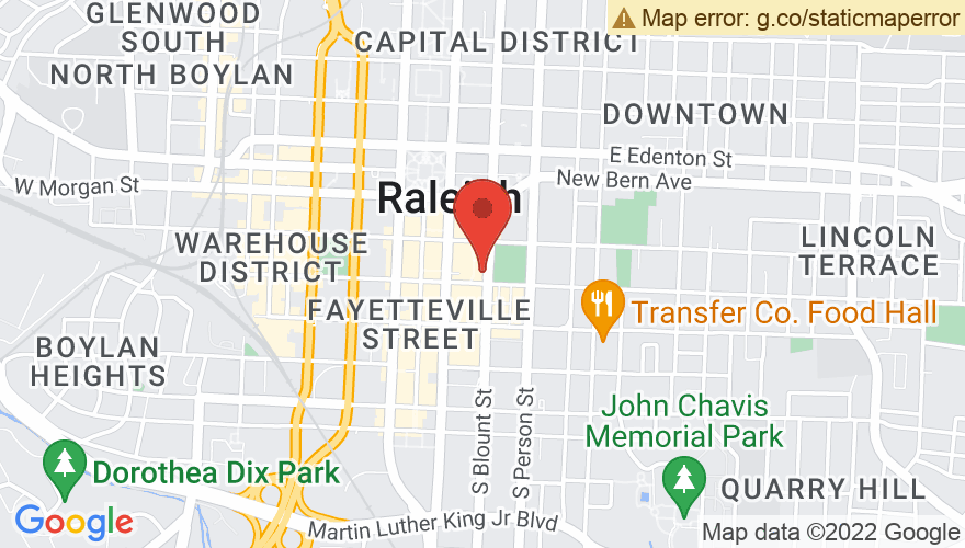 Map for The Pour House Music Hall