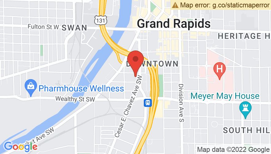 Map for Founders Brewing Company