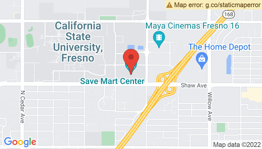 Map for Save Mart Center