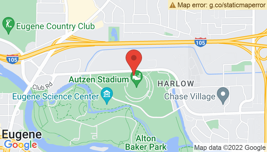 Map for Autzen Stadium