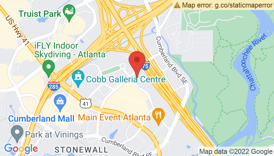 Map for Cobb Energy Performing Arts Centre