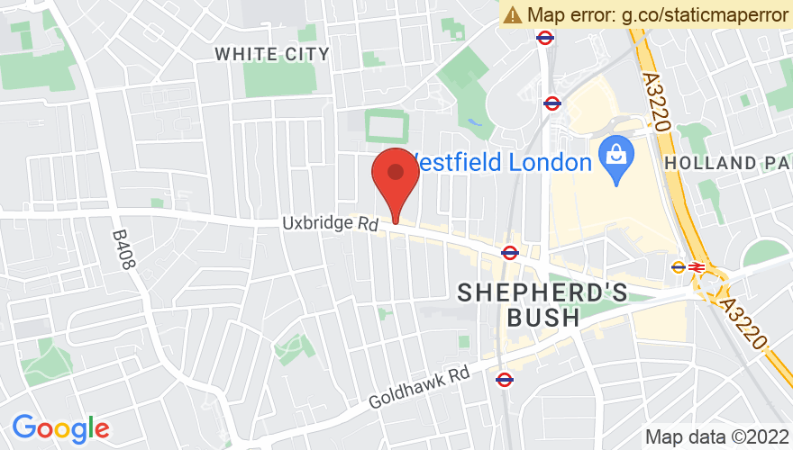 Map for Bush Hall