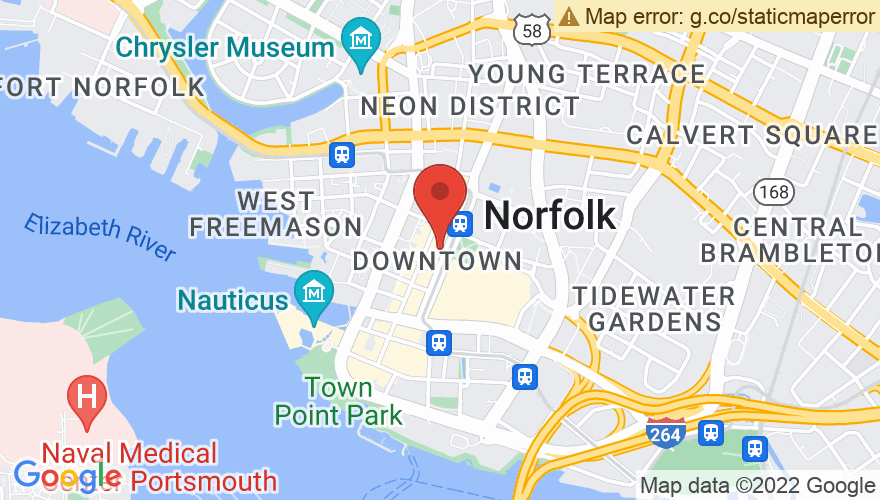 Map for The NorVa