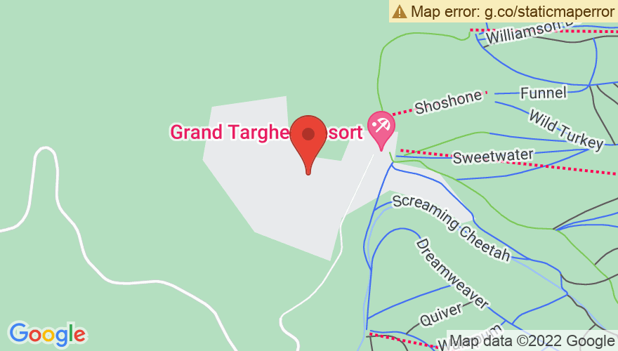 Map for Grand Targhee Resort