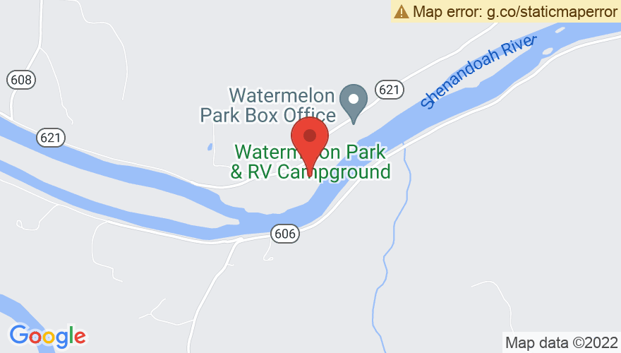 Map for Watermelon Park
