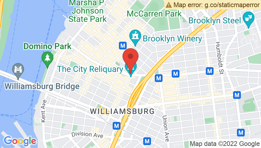 Map for Knitting Factory