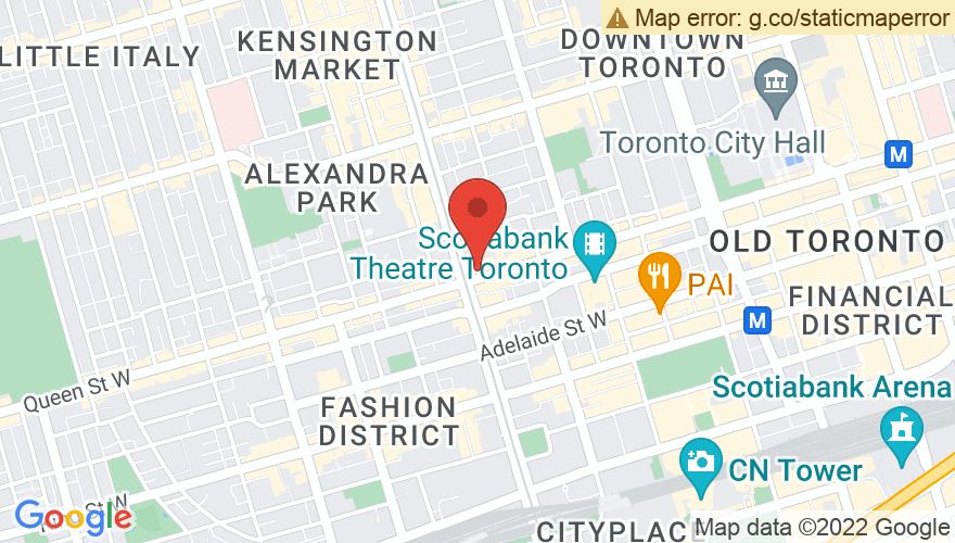 Map for Legendary Horseshoe Tavern