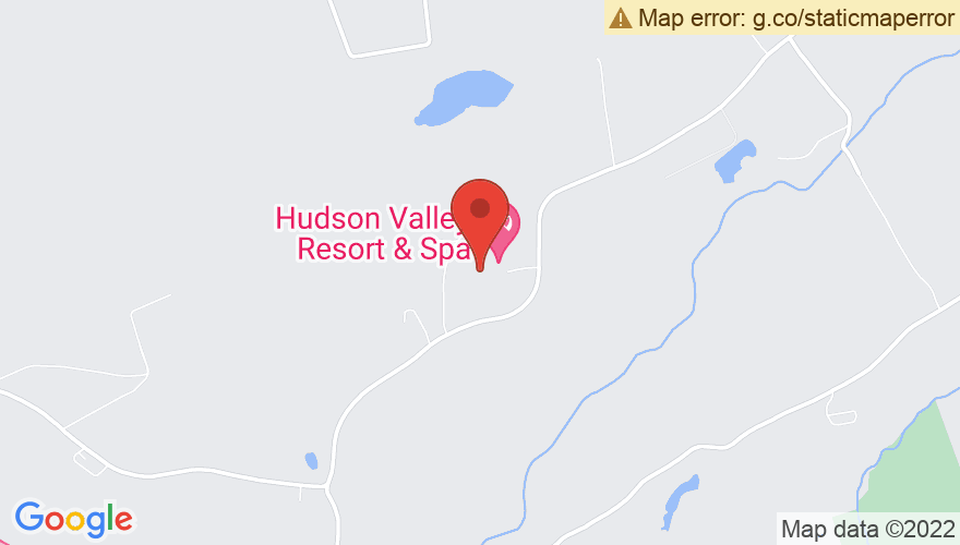 Map for Rock n Roll Resort @ Hudson Valley Resort and Spa