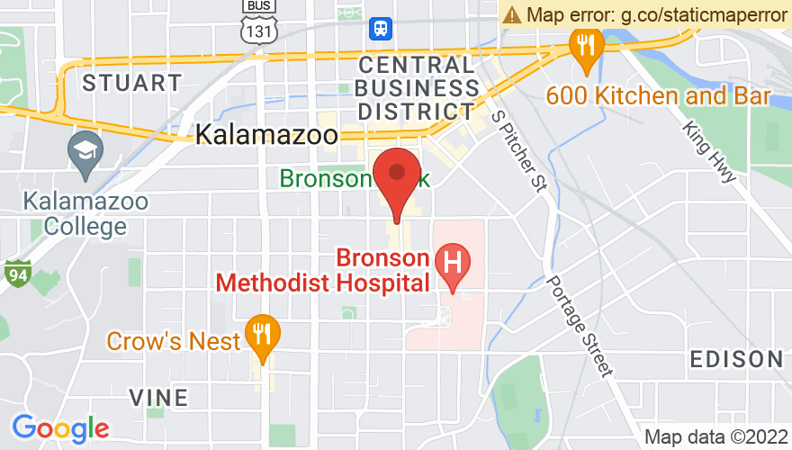 Map for Kalamazoo State Theatre