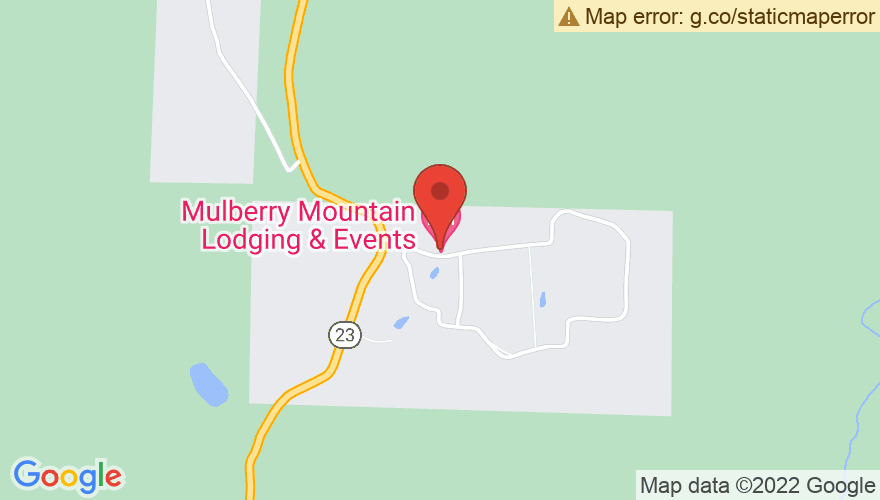 Map for Mulberry Mountain