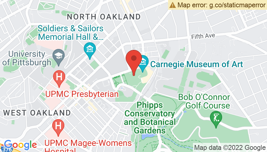 Map for Carnegie Of Homestead Music Hall
