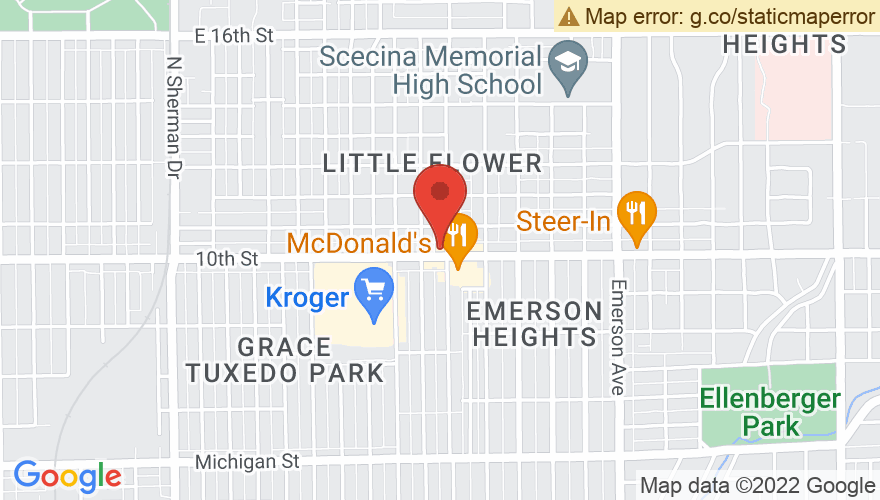 Map for The Emerson Theater