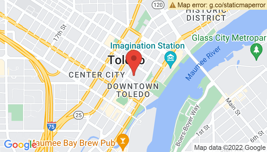 Map for Huntington Center