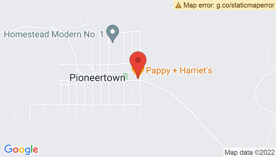 Map for Pappy and Harriets