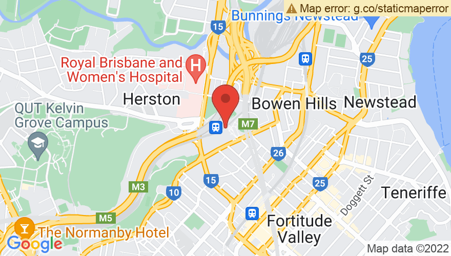 Map for Brisbane Showgrounds