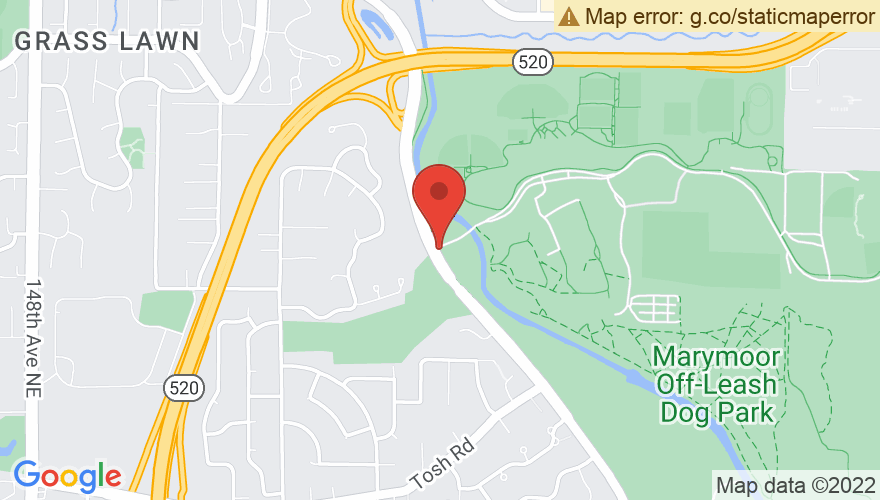 Map for Marymoor Park