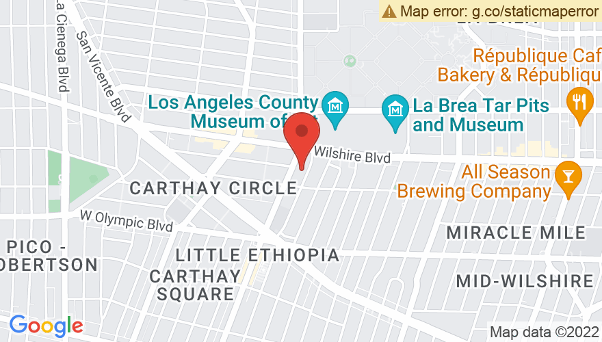 Map for The Petersen Automotive Museum