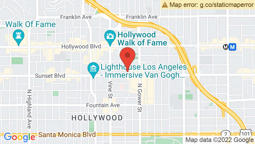 Map for Hollywood Palladium