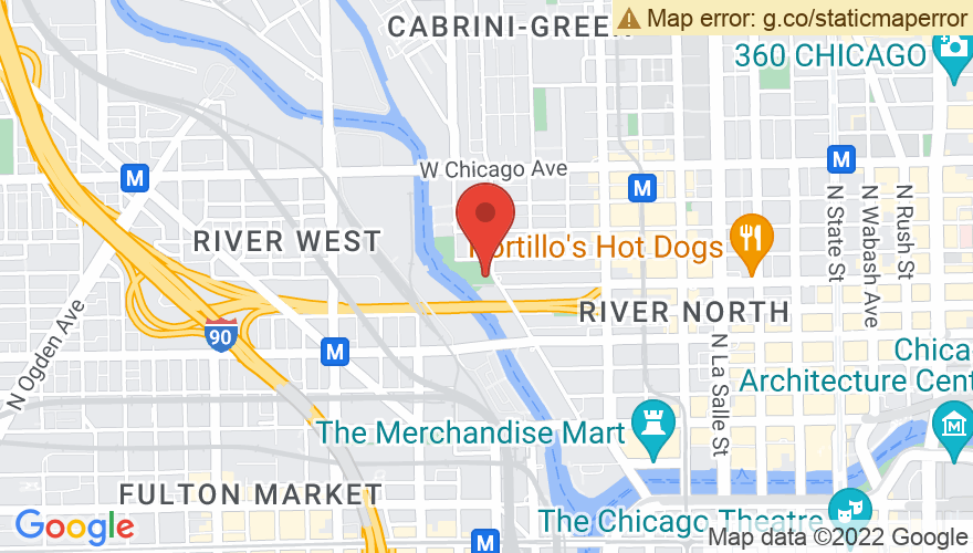 Map for Taste of River North