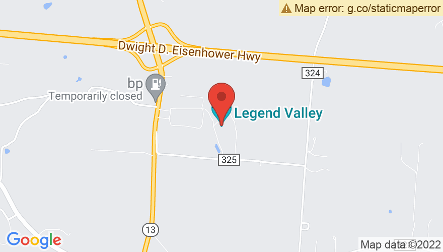 Map for Legend Valley
