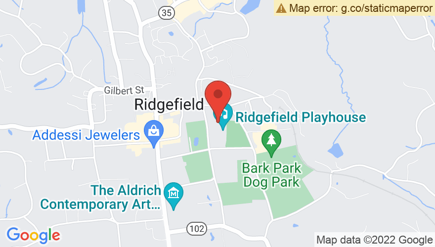 Map for Ridgefield Playhouse