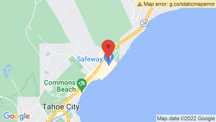Map for Lakeside Pizza