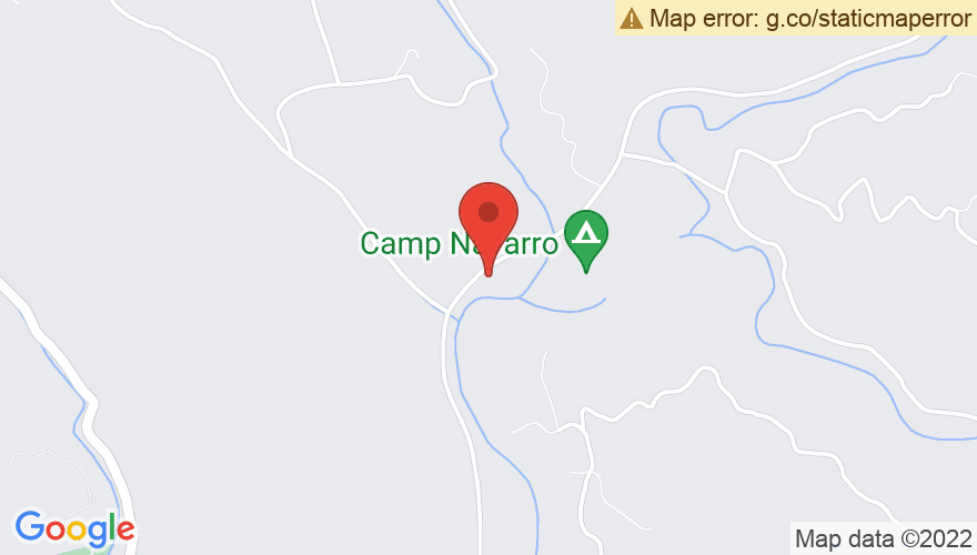 Map for Camp Navarro