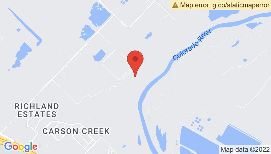 Map for Carson Creek Ranch