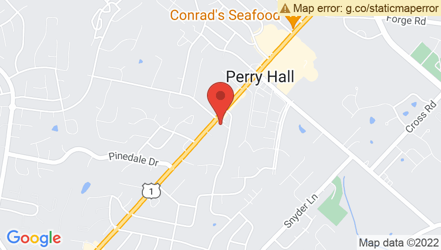 Map for Perry Hall United Methodist Church