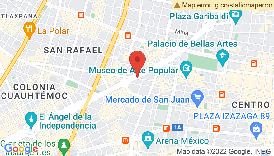 Map for Auditorio Nacional