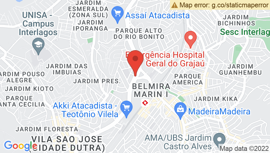 Map for Autódromo José Carlos Pace