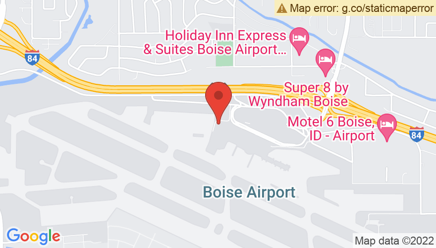 Map for Downtown Boise