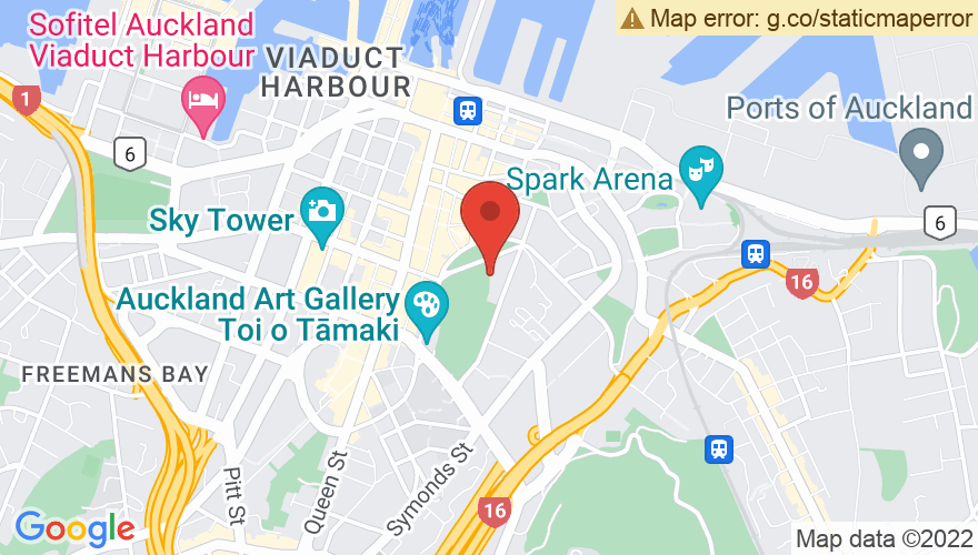 Map for Albert Park