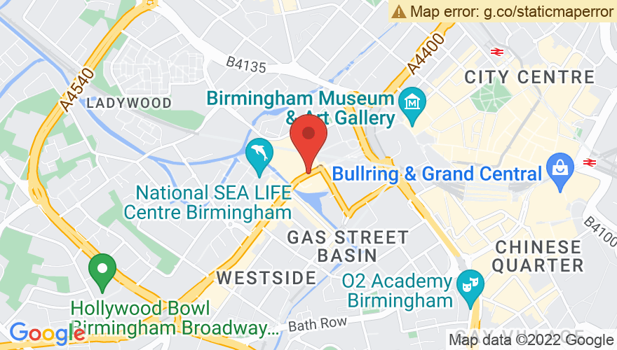 Map for Symphony Hall