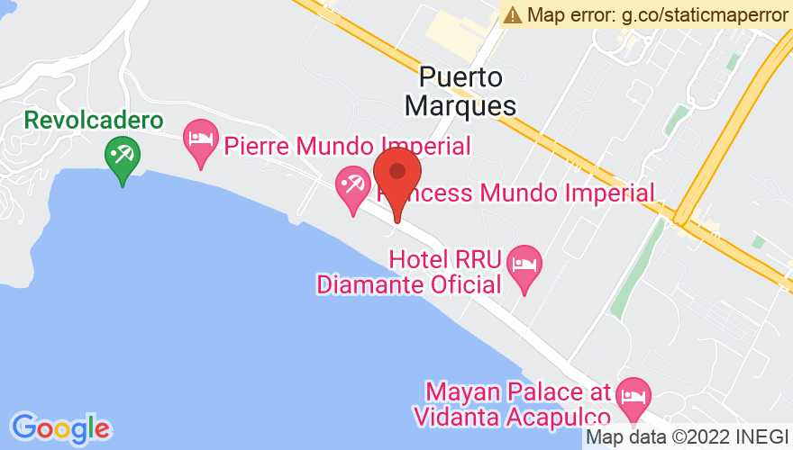 Map for Hotel Pierre Mundo Imperial