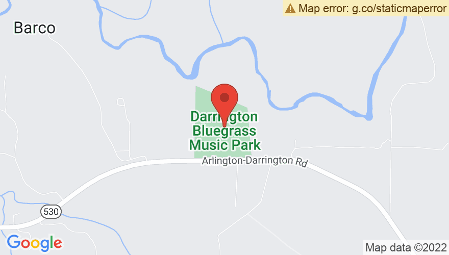 Map for Darrington Bluegrass Festival