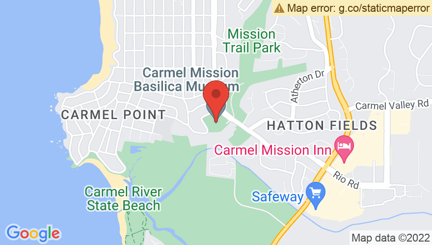 Map for Sunset Cultural Center