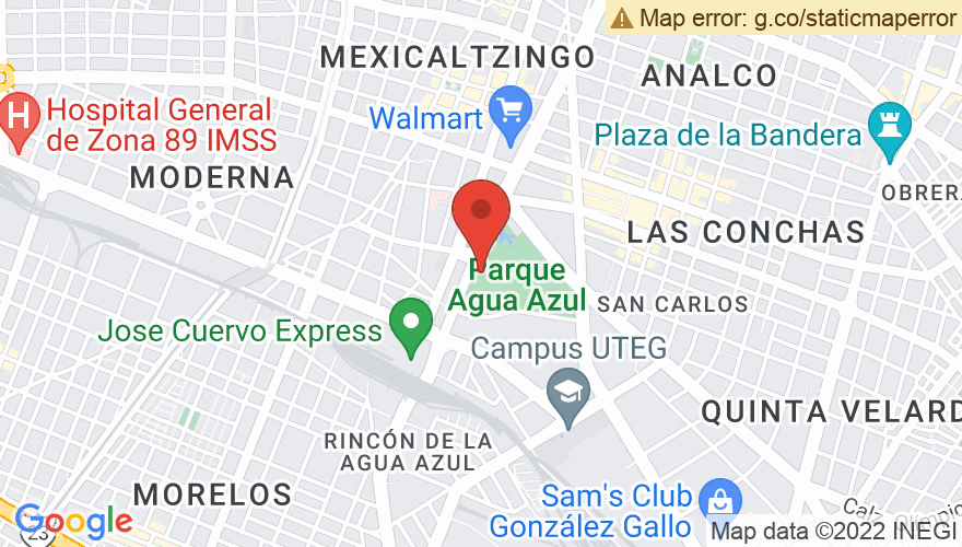 Map for Teatro Diana